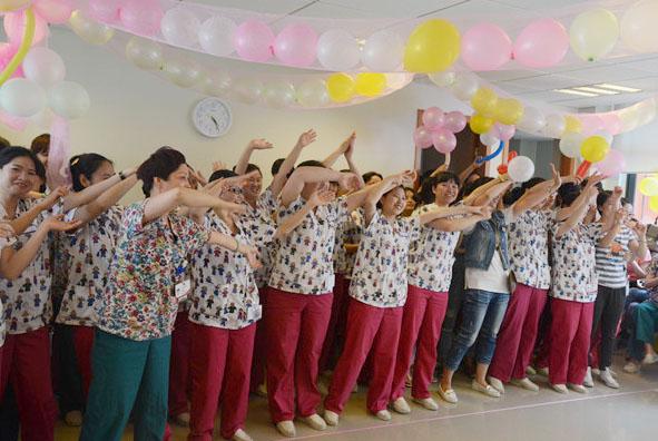 成长,快乐,爱心 成都新世纪妇女儿童医院——5.12护士节小记