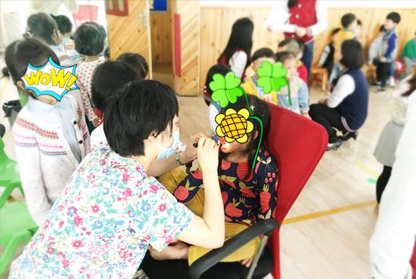 【公益】新世纪携手玉泉清波幼稚园为萌宝们带去了一场公益健康体检