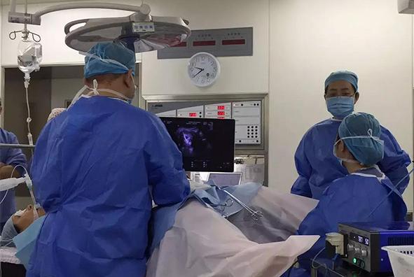 医讯|我院成功完成一例子宫肌瘤微波消融手术